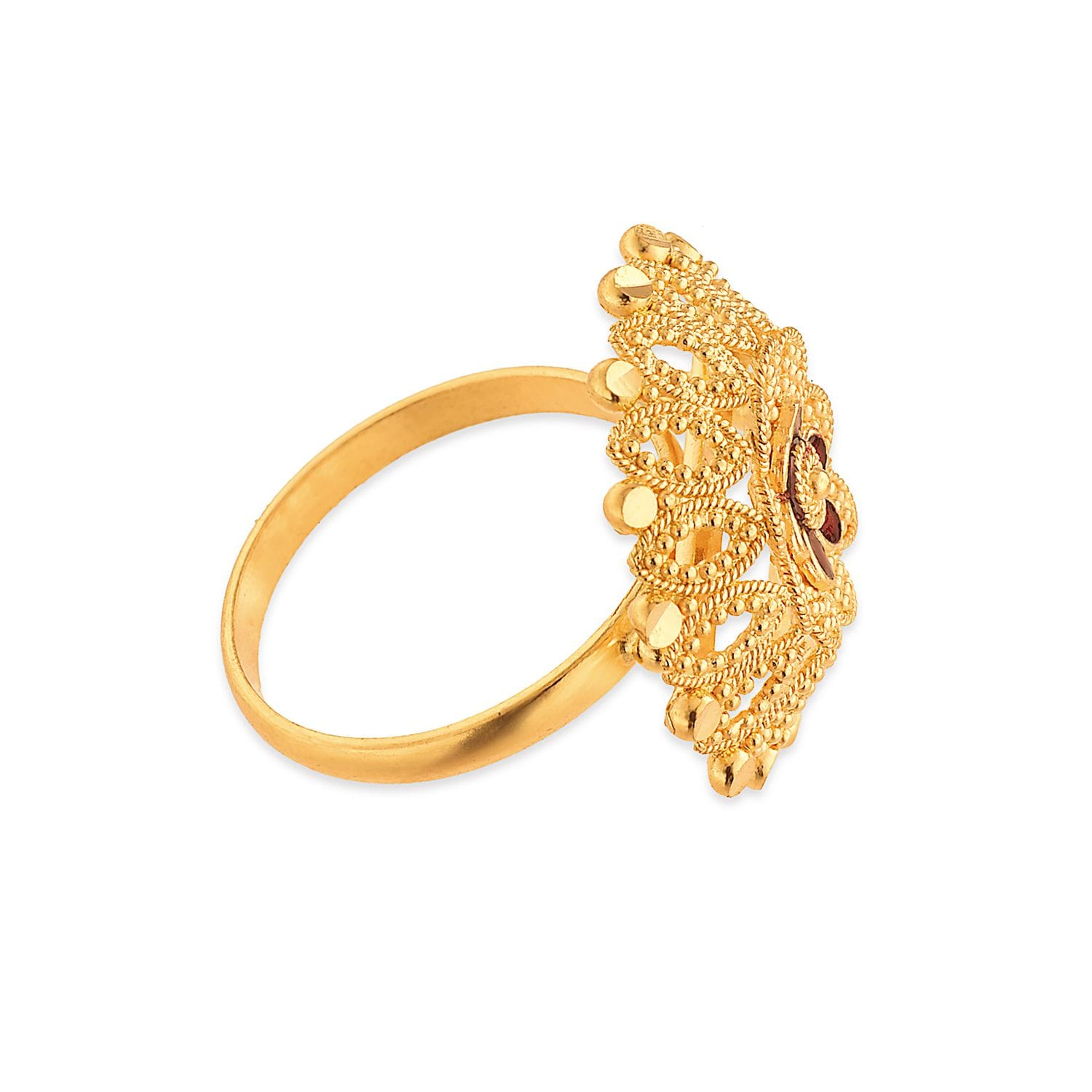 Awesome Tanishq Gold Female Gold Rings | Jewellry\'s Website