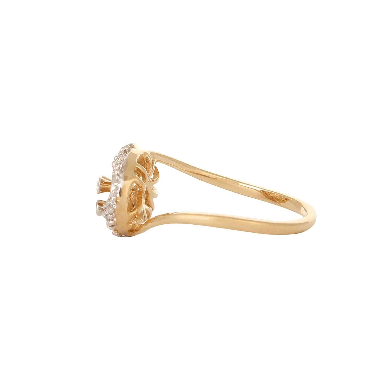 Buy Beautiful Gold and Diamond Tanishq Finger Ring 552811FJGLAA22 ...