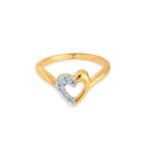 Buy Diamond and Gold Tanishq Finger Ring for Women AT Best Price