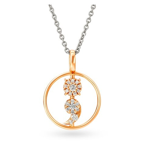 Buy tanishq symbol of strength diamond pendant 502001palaaa02 symbol of strength diamond pendant jewellery tanishq tanishq symbol of strength 18kt rose gold diamond pendant mozeypictures Image collections