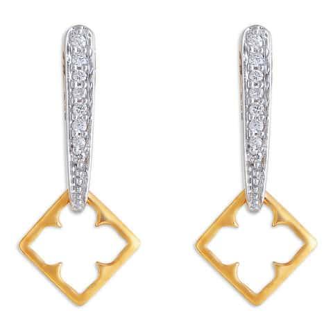 32fadafcb1b53 Buy Tanishq 14 KT Gold Drop Earring Diamond Studded ID ...