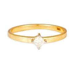 Tanishq 18 KT Yellow Gold DIAMOND Finger Ring For Women-500067FLALAA02