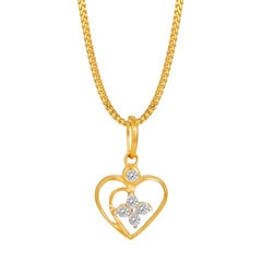 Buy tanishq pendant online at best price in india titan tanishq mozeypictures