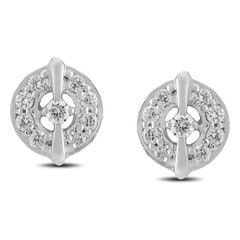 Tanishq Diamond Treats 18KT White Gold Diamond Stud Earrings