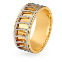Tanishq 18KT Yellow Gold Finger Ring for Men