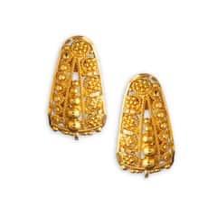 Tanishq 22 KT Yellow Gold Stud Earring For Women-510569SRAABA00