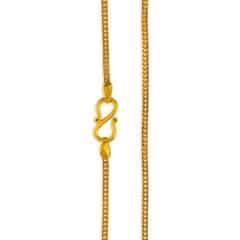 Tanishq Aurum 22 KT Yellow Gold Chain For Women-510783CSAGAA00