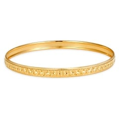 Tanishq 22 KT Yellow Gold Bangle For Women-511138VGMQ1A00