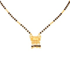 Tanishq 22 KT Yellow Gold Mangalsutra For Women-511159YJEGAA00