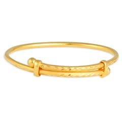 Tanishq 22 KT Yellow Gold Bangle For Kids-511178VLEM1A00