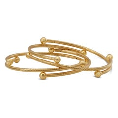 Tanishq 22KT Yellow Gold Round Bangle