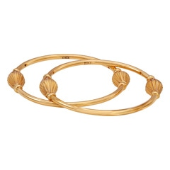 Tanishq 22KT Yellow Gold Bangle