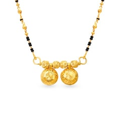 Tanishq 22KT Yellow Gold Pendant