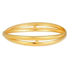 Tanishq 22 KT Yellow Gold Bangle For Women-512311VDFR1A00