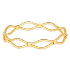 Tanishq 22 KT Yellow Gold Bangle For Women-512313VASR1A00