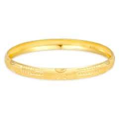 Tanishq Aurum 22 KT Yellow Gold Bangle For Women-512411VSWR1A00
