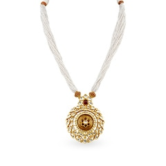 Padmavati by Tanishq 22KT Yellow Gold Pendant