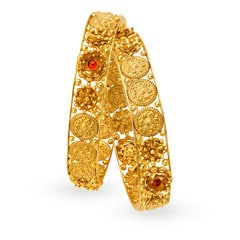 Padmavati by Tanishq 22KT Yellow Gold Bangle