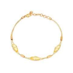 Mia by Tanishq 14KT Yellow Gold Citrine Bracelet
