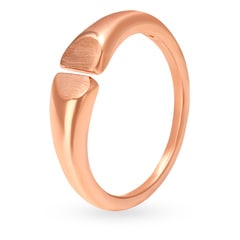 V-Day Collection from Mia by Tanishq 14KT Rose Gold Finger Ring