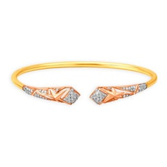 Mia Glam by Tanishq 14KT Rose Gold Cubic Zirconia Bangle