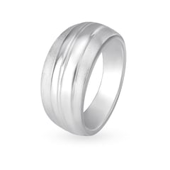 Mia by Tanishq Silver Ring