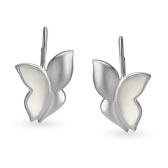 Mia by Tanishq Silver Earrings with Enamel Coating