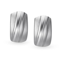 Mia by Tanishq Silver Ear Claps
