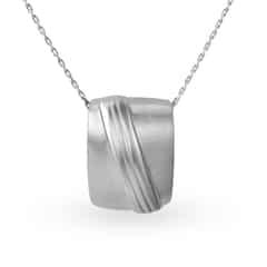 Mia by Tanishq Silver Pendant