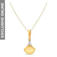 Tanishq 18KT Gold Diamond Pendant