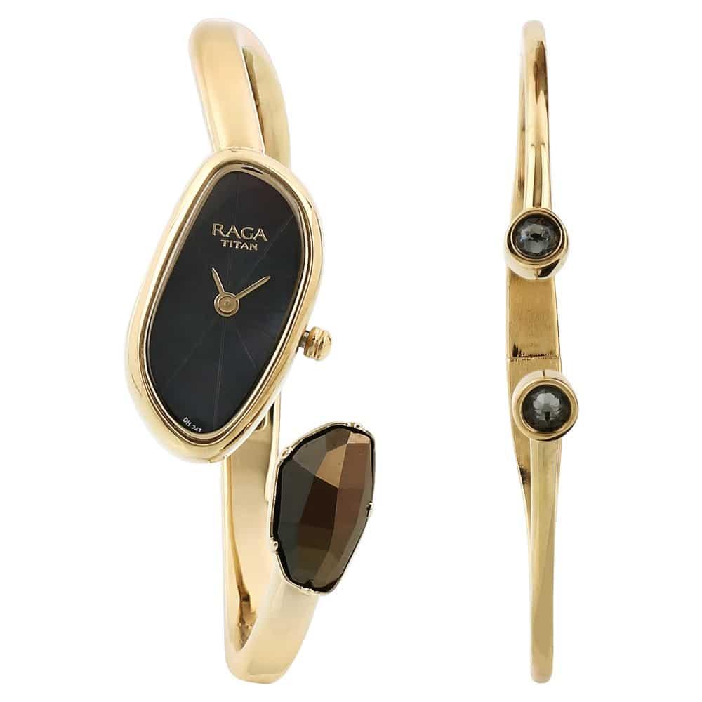 e19fdb79fcf Buy Titan Raga Espana Analog Watch for Women 95055YM01F Shop Online   Titan  E-Store