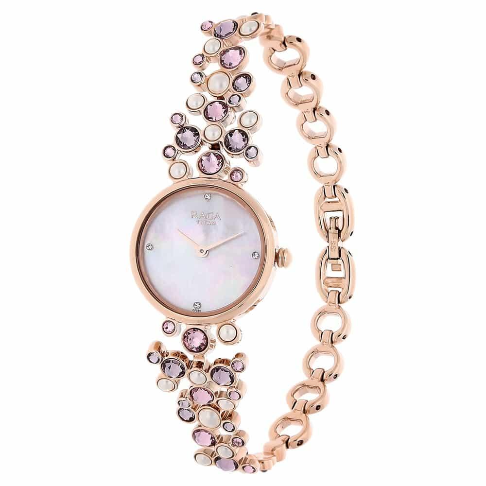 Titan Raga Round Dial Watch For Women Id 95032wm02j Buy
