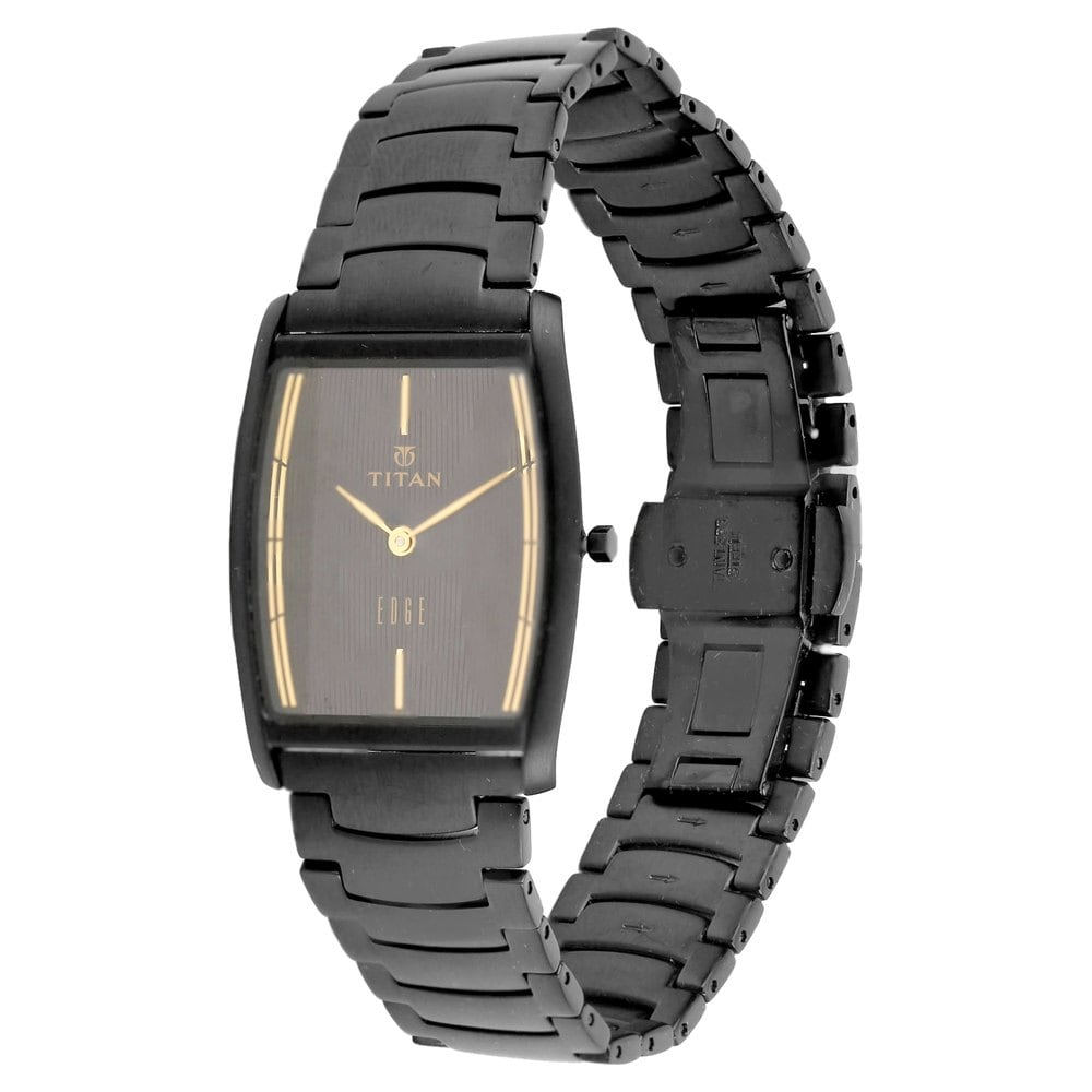 black for watches titan buy edge strap men