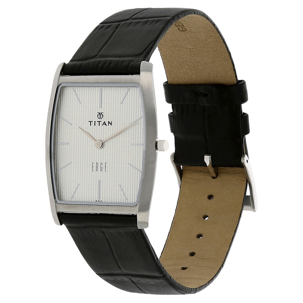 men titan en watch me regular edge watches leather