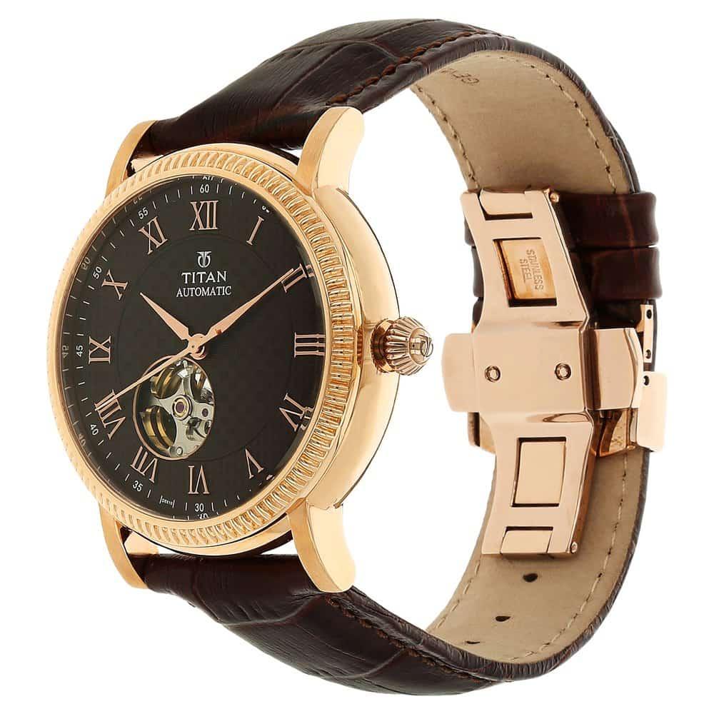 Titan Analog Brown Dial Women's Watch-2534YM03   Joowatches
