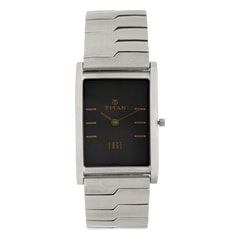 Titan Edge Grey Dial Analog Watch for Men-1043SM15