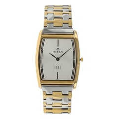 Titan Silver Dial Analog Watch for Men