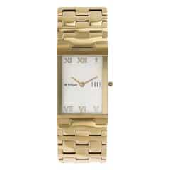 Titan White Dial Analog Watch For Men-1296YM02
