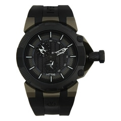 Titan HTSE Black Dial Analog Watch for Men-1539KP01
