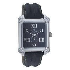 Titan Purple Black Dial Analog Watch for Men
