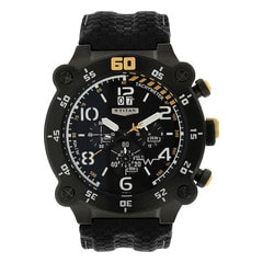 Titan Black Dial Chronograp For Men