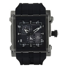 Titan HTSE Black Dial Analog Watch for Men-1635KP04