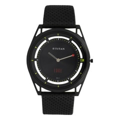 Titan Edge Black Dial Analog Watch for Men-1649NL01