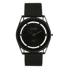 Titan Edge Black Dial Analog Watch for Men-1649NL03