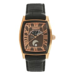 Titan Celestial Moon Phase Brown Dial Watch For Men-1661KL01