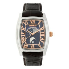 Titan Celestial Moon Phase Blue Dial Watch For Men-1661SL01