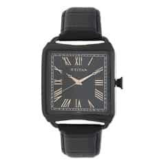 Titan Retro Black Dial Analog Watch for Men-1676NL01
