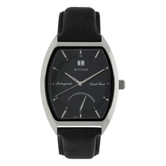 Titan Black Dial Analog Watch For Men-1680SL02