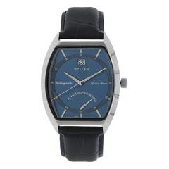 Titan Blue Dial Analog Watch For Men-1680SL03