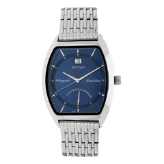 Titan Blue Dial Analog Watch For Men-1680SM02